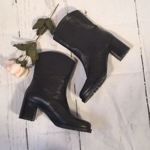 J.Crew leather boots!  Size 6.5